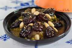 Tajine de boeuf aux pruneaux Ramadan Recipes, Iftar, Beans, Yummy Food, Fruit, Vegetables, Breakfast, Sweet, Moroccan Recipes