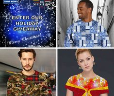 Celebrate the holidays in style!  Enter to win your choice of any 3 t-shirts from our Men's or Women's Collection. Visit our 65 MCMLXV T-Shirt Giveaways page and sign up. Giveaway ends on 1/6/19. Must be 18+ and open to residents of the Continental USA. Don't forget to share with friends for more entries! Good luck!...