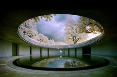 The Oval, Naoshima Island, Japan, designed by architect Tadao Ando