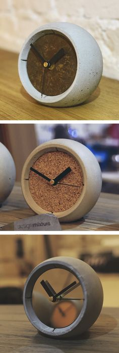Concrete sphere watch  #concrete #productdesign #beton #diy #design #cement #watch #sphere