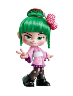 Minty Sakura - Wreck-It Ralph Wiki Disney Pixar, Disney Wiki, Art Disney, Disney Kunst, Disney And Dreamworks, Disney Movies, Cartoon Art, Cartoon Characters, 3d Character