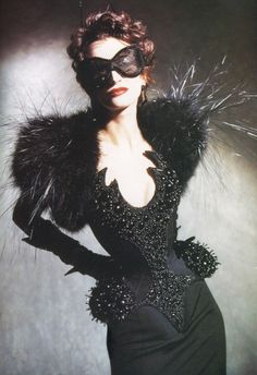Thierry Mugler: Haute Couture Spring 1997