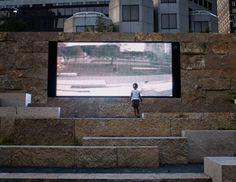 Video Wall at Citygarden St. Louis