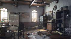 ArtStation - Apartment of adventurer, Igor Kulkov