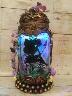 Fairy Jars, Jar Lights, Fairy Houses, Home Decor, Decoration Home, Room Decor, Home Interior Design, Home Decoration, Fairy Homes