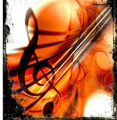 Play Violin Music Grunge
