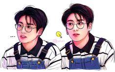 Jungkook fan art credits to : mgitkart Bts Jungkook, Jungkook Fanart, Kpop Fanart, Bts Memes, Bts Gifs, Bts Drawings, Fanarts Anime, Bts Chibi, Jikook