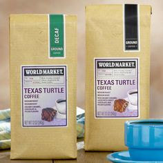 World Market® Texas Turtle Blend Coffees = LOVE!
