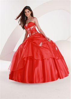 Ball Gown Strapless with Embroidery Floor Length Organza Satin Quinceanera Dress QD1094 www.dresseshouse.co.uk £204.0000  ---2013 Prom Dresses,Prom Dresses 2013,Prom Dresses,Prom Dresses UK,2013 Prom Dresses UK,Prom Dresses 2013 UK