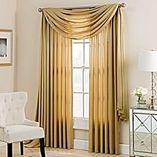 image of Charlotte Window Curtain Panel and Valance