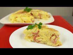 Tortilla española con chorizo - YouTube