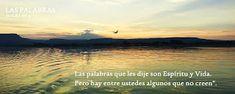EVANGELIO DE JUAN: LAS PALABRAS Ju 6,63-64a