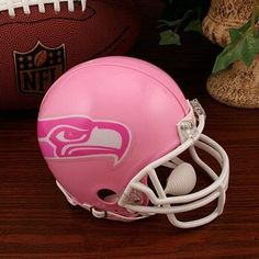 Riddell Seattle Seahawks Pink Breast Cancer Mini Helmet #FanaticsWishList @Fanatics