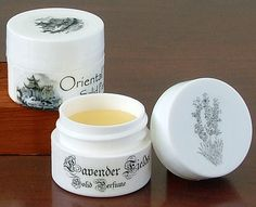 recipe for solid perfume with essential oils