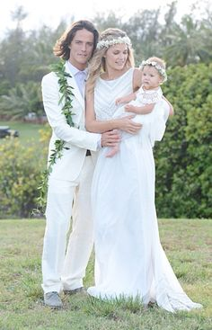 Tori Praver and Danny Fuller's Hawaii wedding