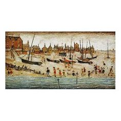 The Beach By L.S Lowry: Category: Art Currency: GBP Price: GBP1000.00 Retail Price: 1000.00 This Limited Edition Gouttelette Print on paper…