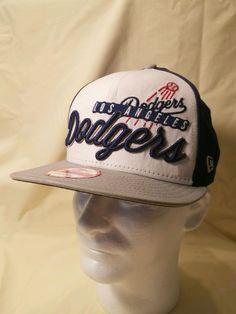 New Era Los Angeles LA Dodgers Original Fit Snapback Cap 9FIFTY Adjustable Hat #NewEra #OriginalFitSnapback