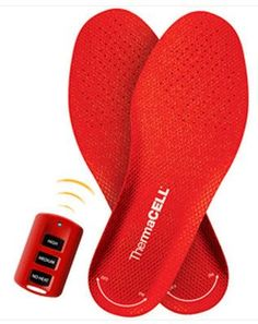 ThermaCell Heated Insoles Foot Warmer OHHHHH YES I WANT!!!!!
