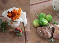 Wild-Rezept Wildfleisch Süßkartoffel Pommes Rosenkohl