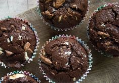 Chocolatchip Cupcakes - 12 stk
