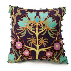 Morning Blossom Square Pillow