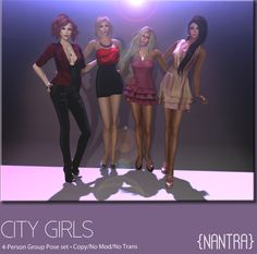 {NanTra} Poses http://maps.secondlife.com/secondlife/Pouncival/101/171/2508