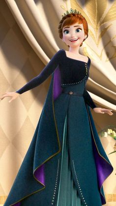 The Queen's admirer — Elsa Anna Disney Princess Cartoons, Disney Princess Pictures, Disney Princess Drawings, Disney Pictures, Disney And Dreamworks, Disney Cartoons, Anime Princess, Princesa Disney Frozen, Disney Frozen Elsa