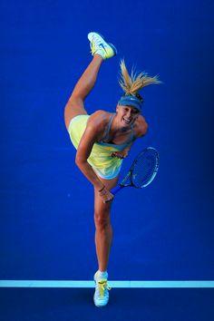 Maria Sharapova @jugamostenis #tennis #AO13 #nike