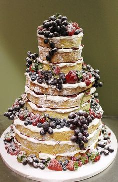 Naked Wedding Cake View on Flickr