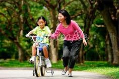 mother spends time with children Bicycle, Children, Relationships, Kids, Bicycle Kick, Bike, Bicycles, Dating, Relationship