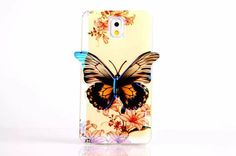 Cute Butterfly Soft TPU Case For Samsung galaxy Note 3 Colorful Skin phone Bag Case For Samsung Note3 N9000 Back Cover-in Phone Bags & Cases from Phones & Telecommunications on Aliexpress.com | Alibaba Group