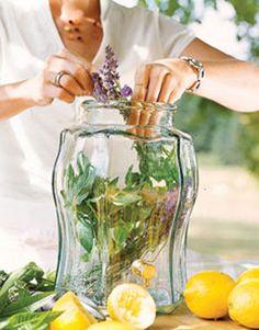 Homemade Iced Tea Recipes - How to Make Homemade Iced Tea - Country Living