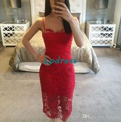 Sexy Cocktail Dresses Spaghetti Sleeveless Backless Sheath Summer Knee Length Lace Party Dresses White,Black,Ivory Lpdress Purple Cocktail Dresses Sexy Formal Dresses From Lpdress, $85.93| Dhgate.Com