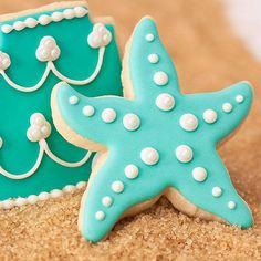 Casamentos na praia: Nada de doces pesados para casamentos na praia. Biscoitinhos amanteigados podem dar o que falar!
