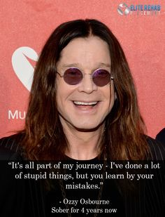 Sober Celebs - Ozzy Osbourne