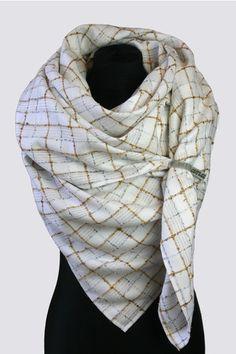 Tuch ::SommerGold:: von anami auf DaWanda.com Etsy, Style, Fashion, Scarves, Swag, Moda, Fashion Styles, Fashion Illustrations, Outfits