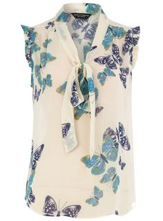 @Sarah Bardwell, this butterfly blouse is so you!  Too bad it's out of stock! :(