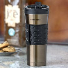 Cause I like to look cool when I drink my coffee, this things got buttons yall, fo real. Starbucks Tumbler Cup, Coffee Tumbler, Tumbler Cups, Coffee Flask, Gifts For Hubby, Water Bottle Design, Coffee Love, Coffee Maker, Coffee Shop