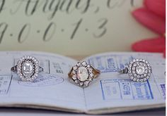 Gorgeous Vintage Rings from Trumpet & Horn