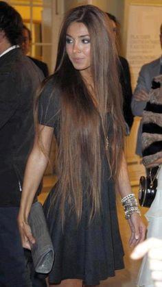 Long hair smooth hair