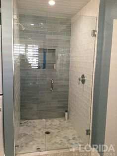 Florida Shower Doors manufacturer in Florida specializing in custom glass shower enclosures. Frameless, Semi-frameless, Pivot and Framed shower enclosures.