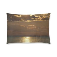 """Awesome Sea Scene Custom Zippered Pillow Cases 20""""x30""""(Twin Sides)"""