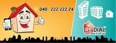 """Get """"FREE"""" Property Info... (BUY/SELL/RENT) Call 040-222 222 24"""