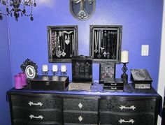 Dresser from Goth It Yourself blog