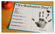 "Would be a great project for the end of each school year for students!  keepsake ""diploma"""