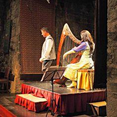 Storytelling at Knappogue Castle Medieval banquet