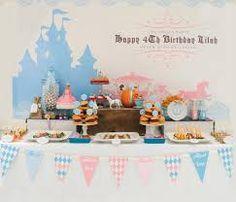 Resultado de imagen para decoracion fiesta princesa cenicienta