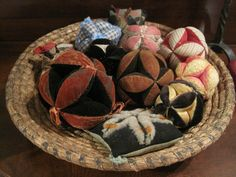 Antique Amish Puzzle Balls