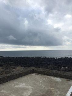 제주바다와 하늘