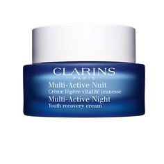 Clarins Multi Active Night Youth Recovery Comfort Cream for Normal to Combination Skin oz. * Click image for more details. (This is an affiliate link) Drug Store Face Moisturizer, Moisturizer With Spf, Moisturiser, Best Night Cream, Anti Aging Night Cream, Face Skin Care, Combination Skin